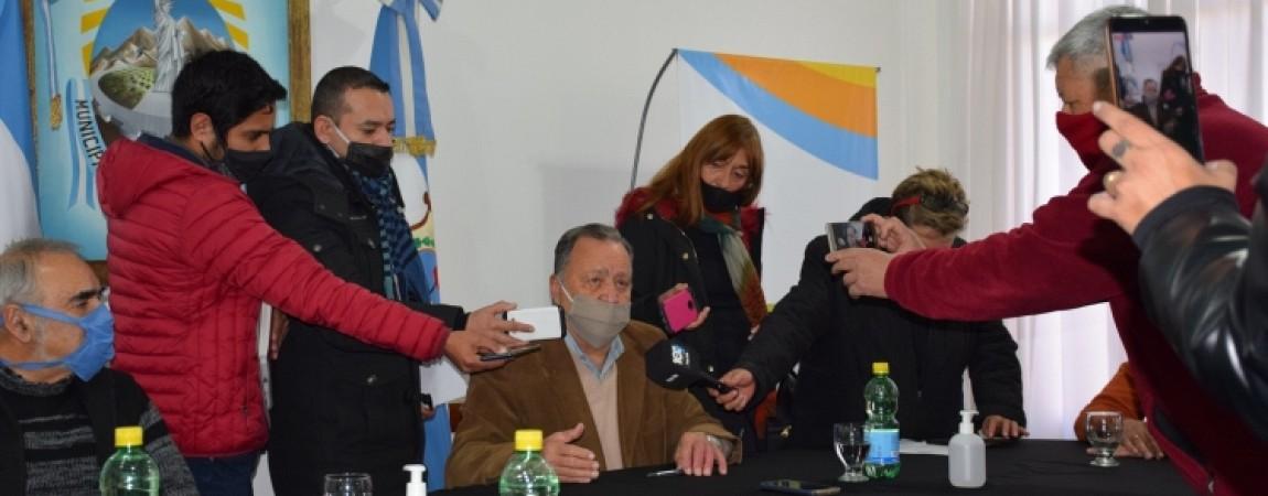 Importante firma de convenio entre la Municipalidad y el Tiro Federal
