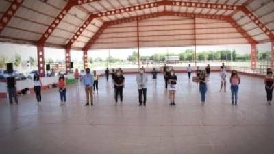El municipio reconoció al grupo cultural Pocito en Danza