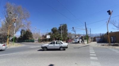 El cruce de Vidart y Calle 11 ya cuenta con semáforos