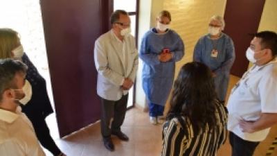 Se continua vacunando a mayores de 80 años en Pocito